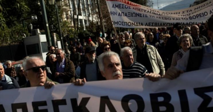 Përjashtohesh nga pensioni nëse nuk ke qëndruar 40 vite në Greqi   protesta në Athinë  paralizohet transporti publik